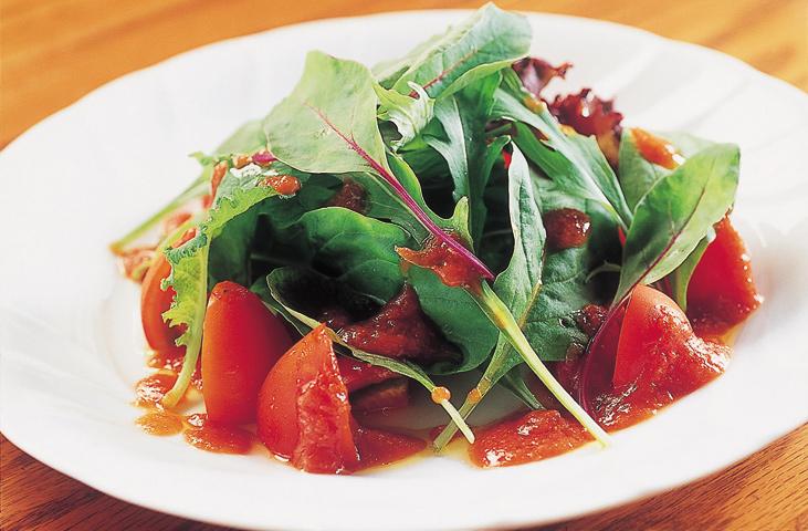 越のルビーのサラダ