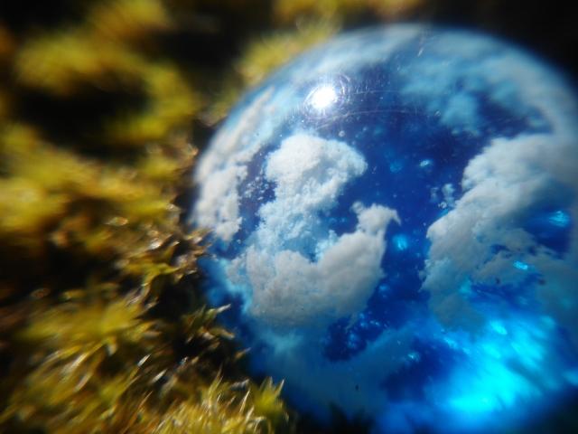 UVレジンの雲