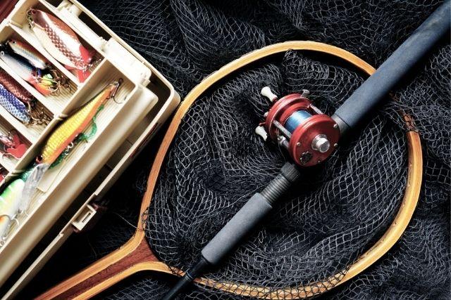 釣り具の数々